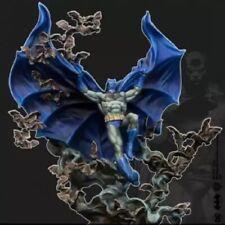 35mm Resin Figure Model Kit SuperHero Batman Warrior Unpainted Unassambled