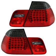 LED Rückleuchten Heckleuchten BMW 3er E46 Limo Bj. 98-01 Rot/Schwarz