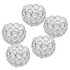 5PCS Crystal Table Tea Light Votive Candle Holder Wedding Party Centerpieces