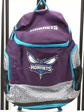 "Charlotte Hornets Backpack ""Elephant Print"" New With Tag"
