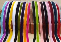 20mm Luxury Velvet Ribbon 1 Metre, 2 Metres or 3 Metres Choice of Colours