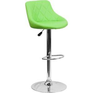 Flash Furniture Green Contemporary Barstool, Green - CH-82028A-GRN-GG