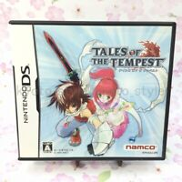 USED Nintendo DS Tales of the Tempest 96013 JAPAN IMPORT