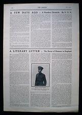 PATRICK MACGILL IRISH POET NOVELIST AUTHOR FIRST WORLD WAR 1pp ARTICLE 1915