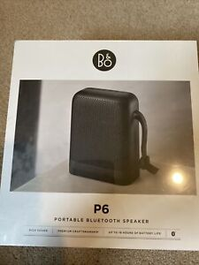 B&O Beoplay P6 Bluetooth Speaker + Cary Case