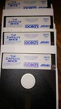 The Simpson Bart vs the space mutants IBM océan disquette Aklaim 5 pouce