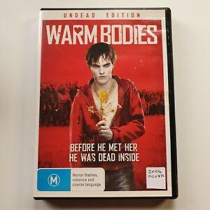 Warm Bodies   DVD Movie   Nicholas Hoult, Teresa Palmer  Horror/Romance   2013