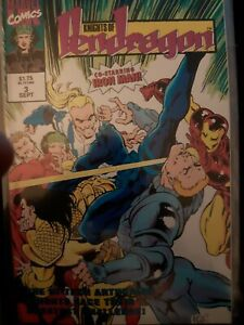 The Knights of Pendragon 2nd series #3 Sept 1992 Marvel Uk Comic  Overkill tales