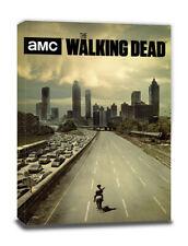 The Walking Dead: Road Leinwanddruck Wandbild Keilrahmen 60 x 80 x 3,8 cm