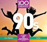 100 Greatest 90S (2017) 100-track 5-CD Digipak Neuf / Scellé Nineties All Saints