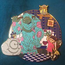 Monster's Inc Labyrinth Limited 50 Disney Fantasy Pin Boo Jareth David Bowie HTF