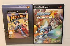 Playstation 2 PS2 ~ GAME LOT ~ Mega Man X ~  Mega Man Anniversary (COMPLETE!)