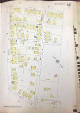 1928 Roxbury Jamaica Plain Boston Bussey Inst.& Harvard Agr. College Map Atlas