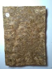 CONSECUTIVE SHEETS OF BROWN OAK BURR VENEER 29X20CM BBO#3 MARQUETRY