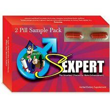 SEXPERT - Erection Pill & Performance Enhancer - Testosterone Booster, Get Hard!