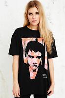 Urban Outfitters Tshirt Tee Black Elvis Colour Graphic Rock Music BNWT XS S M