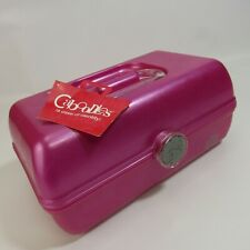 Caboodles On-the-Go Girl Classic Makeup Case NEW Pink Cosmetic Box NWT 7x12""