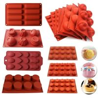 Silicone Muffin Mold Cupcake Chocolate Cookies Bakeware Pan Tray Baking Mould