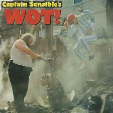 "CAPTAIN SENSIBLE'S "" WOT! / STRAWBERRY DROSS""  7"" UK PRESS"