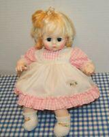 "Madame Alexander Vintage 1965 PUSSYCAT 15"" new crier original dress box crier"