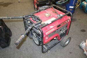 Honda EB5000 - 4500 Watt Portable Industrial Generator w/ GFCI Protection (CARB)