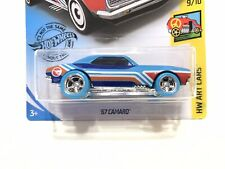 Hot Wheels '67 Camaro Treasure Hunt w/ Blue Real Riders SUPER CUSTOM