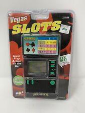 Travel Casino Vegas Slots Handheld Video Game Mga 1998 Brand New