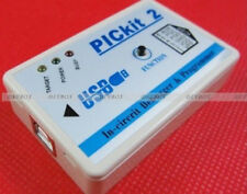 Enhanced Microchip PIC Emulator PICKit2 Programmer + USB Cable + ICSP Cable New