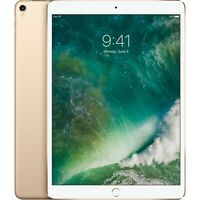 "Apple iPad Pro 10.5"" A10X Chip 256GB, Wi-FI  Gold 2017 Model MPF12LL/A"