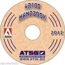 ATSG Tech Manual 4R100 Update Handbook 1998-On Upgrade Guide Book CD Rebuilding