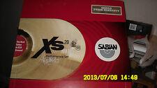Sabian XS20 Performance Set Brilliant Finish XS5005B-NB XS5005B New!!!