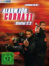 3 DVDs * ALARM FÜR COBRA 11 - STAFFEL 2.2 # NEU OVP §