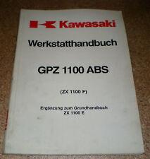Werkstatthandbuch Kawasaki GPZ 1100 ABS Stand 02/1996