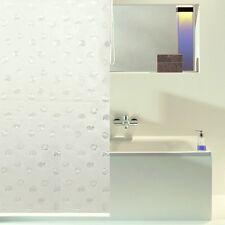 ACUS Duschrollo Duschvorhang klarweiß Muschelmotiv NEU