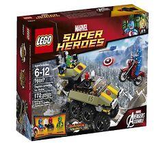 LEGO - Captain America vs. Hydra - Marvel Super Heroes 76017 - Brand New