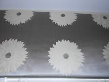 New Custom Cornice Board Silk Cotton fabric woven Marguerite floral design