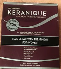 Keranique Women's Hair Regrowth Treatment Revitalize Regrow Hair Follicles 6 Oz.