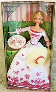 New Barbie Doll Victorian Tea Party Special Edition Blonde B0787 Outer Wrap NRFB