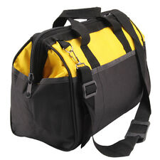 16 inch Tool Bag Hard Bottom Toolbag Heavy Duty Tool Case  Tools Storage Case