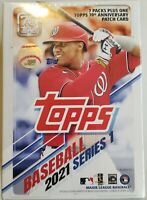 ✅⚾️🔥2021 Topps Baseball Series 1 Blaster Box 7 Packs New Sealed MLB