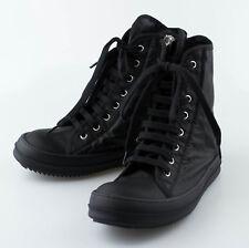 New. DRKSHDW By RICK OWENS Black Vegan Fashion Sneakers Shoes 6.5/39.5 $695