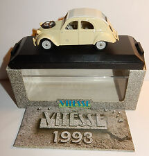 VITESSE CITROEN 2CV SAHARA 4X4 SABLE 1960 1/43 REF 037 B BOX + CATALOGUE 1993