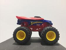 Hot Wheels Monster Jam Truck Superman. In Good Condition.