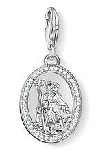 Thomas Sabo 1234-051-14 charm remolque Christophorus 925 Sterling plata