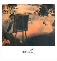 Salvador DALI Impressions of Africa 1938 Surrealism Poster 28 x 22