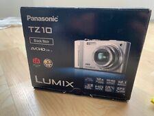 Panasonic LUMIX TZ-10 Kompaktkamera - Schwarz
