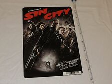 Sin City Frank Miller RARE movie mini POSTER collector backer card 8x5.5 plastic