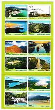 Lantau Trail excellent état LIVRET of 12 auto-adhésif TIMBRES 2016 Hong Kong