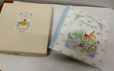 Gibson Baby Photo Album Disney Bambi Thumper 40 4x6 photos Vintage *Defects* New