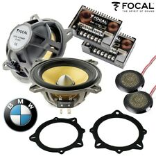 "Focal 4"" Component Car Door Audio Speaker Upgrade For BMW 3 5 Series X1 X3 X5"